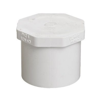 "1-1/2"" Schedule 40 PVC Plug - Spg 449-015"