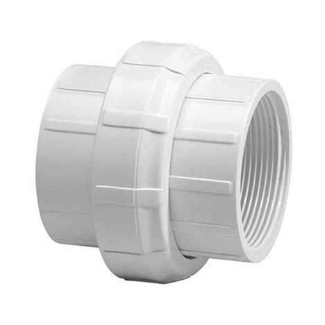 """1-1/4"""" Schedule 40 PVC Union (Buna-n) - FPT x FPT 458-012"""