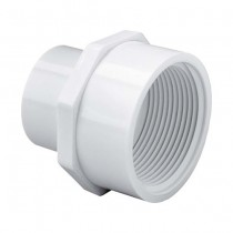 1 inch x 1-1/2 inch Sch 40 PVC Reducing Female Adapter - Slip x FPT 435-211