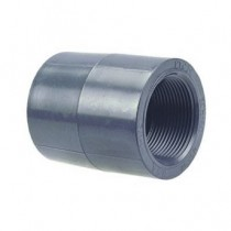 "1-1/4"" Schedule 80 PVC Coupling FPT 830-012"