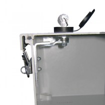 "Key Lock Kit  for 6"" x 6"" through 30"" x 24"" (Raised Cover) Enclosures"