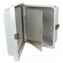 """Aluminum Hinged Front Panel for 16"""" x 14"""" Enclosures"""
