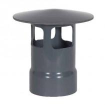 "10"" PVC Duct Style A Rain Cap 1034-WCA-10"