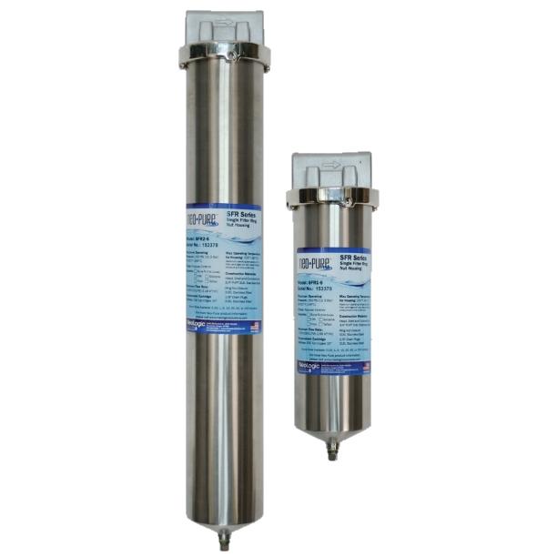 NeoLogic Neo-Pure SFR Series Single Cartridge Filter Housings
