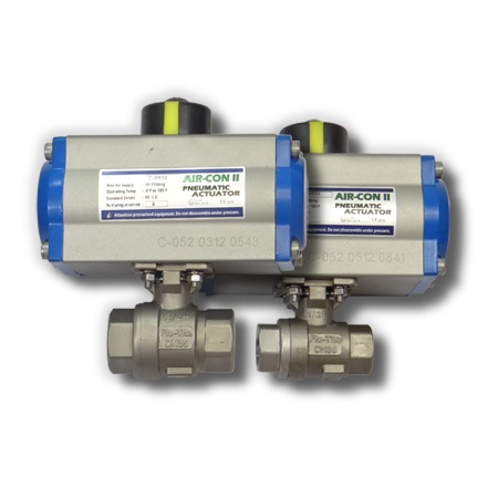 Direct-Mount Ball Valve Thumb