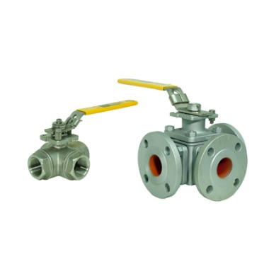 Multi-Port Ball Valve Thumb