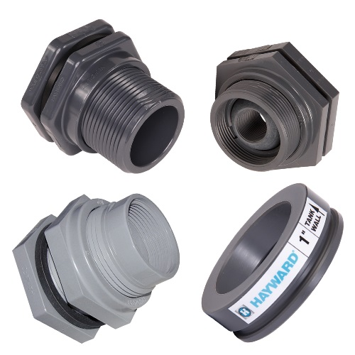 Hayward Bulkhead Fittings