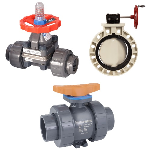 Hayward Valves