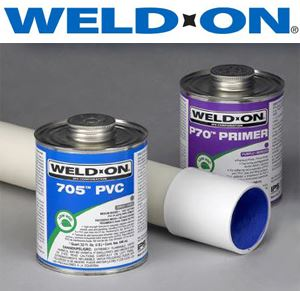 IPS PVC Solvents and Glue's