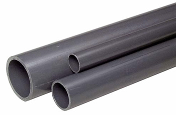 Assortment of Schedule 80 PVC Pipe Sizes