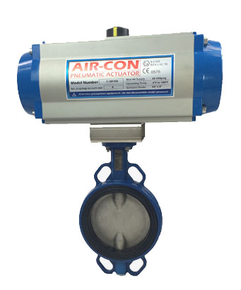 ISO Compliant Butterfly Valve