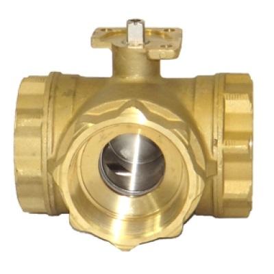 MULTI-PORT Series MPT355/365 Brass Ball Valves