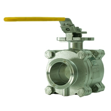 3PC Sanitary Ball Valves