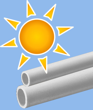 PVC Pipe Strength  sc 1 st  Commercial Industrial Supply & What Are the Effects of Sunlight on PVC? It It UV Resistant?