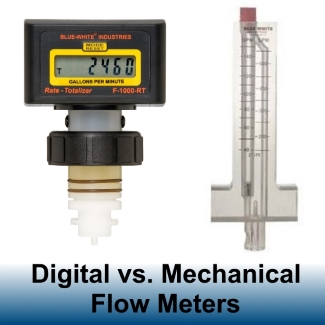 Digital Vs Mechanical Flow Meters Comparing Flow Meters